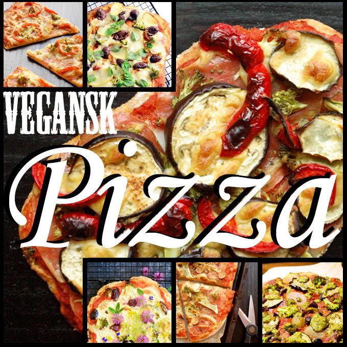 Ultimativ inspiration til vegansk pizza (uden produkter)
