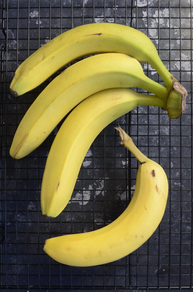 Ikke helt modne bananer