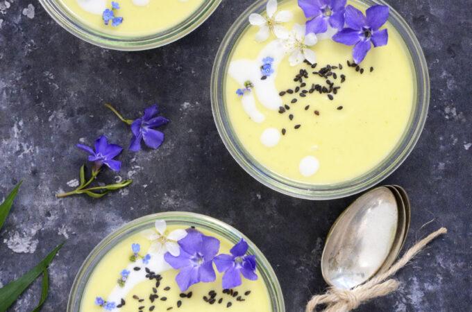 Nem blomkåls-thaisuppe