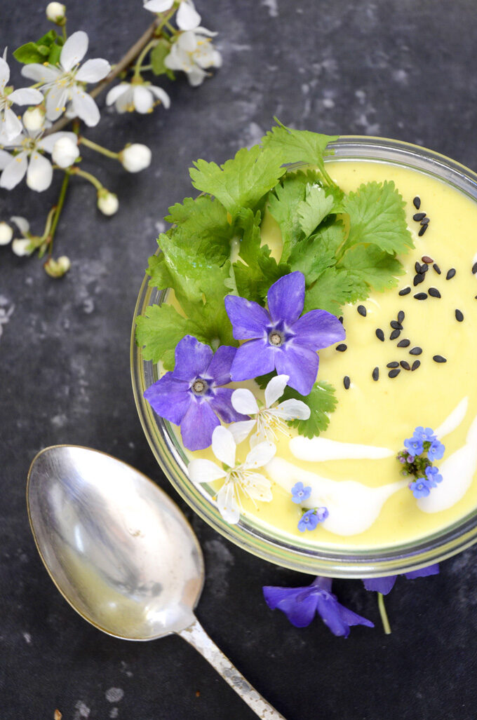 vegansk thaisuppe